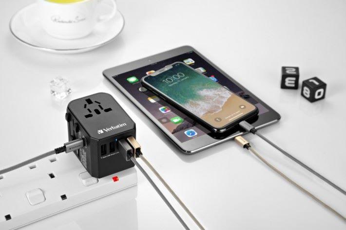 Verbatim 5 Ports旅行充電器