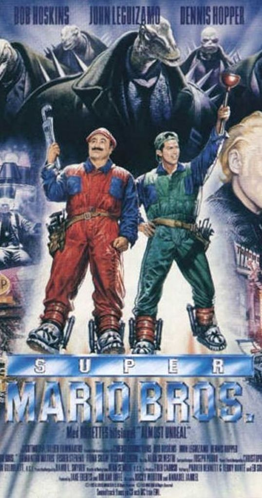 Hollywood Pictures 於 1993年曾經推出《 Super Mario Bros. 》真人電影,但在當時劣評如潮。