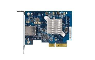 電腦 LAN 卡新品牌? QNAP QXG-10G1T 支援 10Gbps 及 mGig