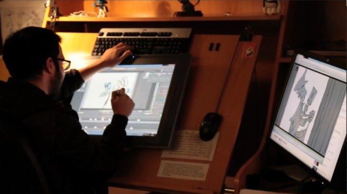 TVPaint Animation 是專業的動畫製作軟件