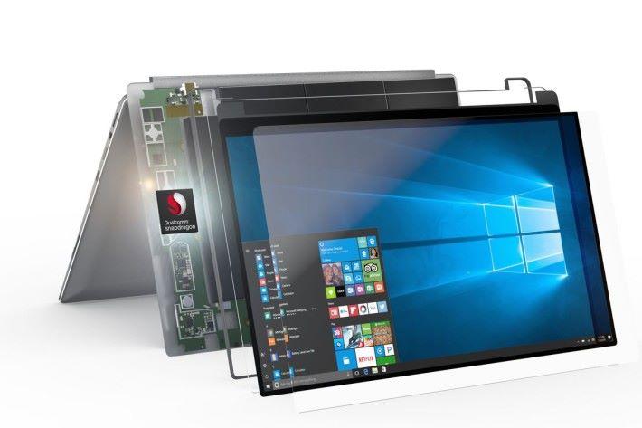 Windows on Snapdragon 的產品一度成為市場焦點