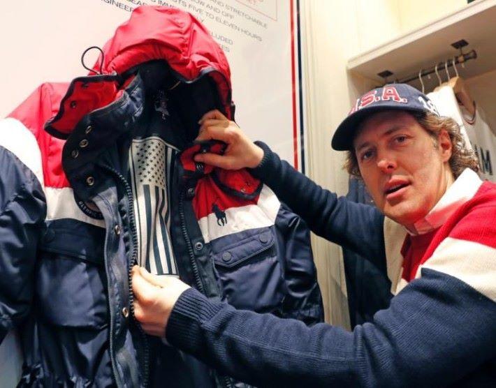 Ralph Lauren 為美國冬奧選手設計了一款加入發熱裝置的外套