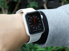獨立操作 OK! Apple Watch Series 3 GPS+Cellular 上手速試