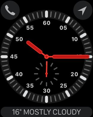 錶面會多出電話 Icon,意味用戶可獨立操作,隨時撥接來電。