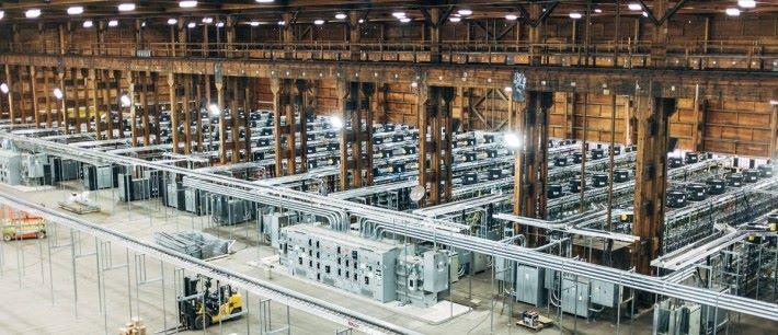 虛擬貨幣的生產耗電量非常龐大。