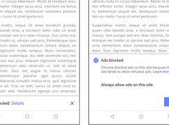 Google 推出 Chrome 更新正式開始攔截劣質廣告