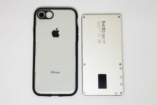 與 iPhone 8 對比,即見 GL-01的確十分小巧。