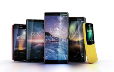 【 MWC 2018 】Nokia 新機出「蕉」