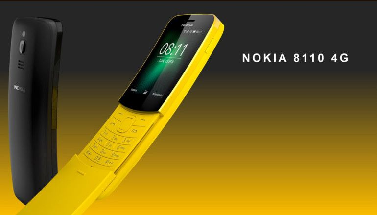 Nokia 8110 月底推出