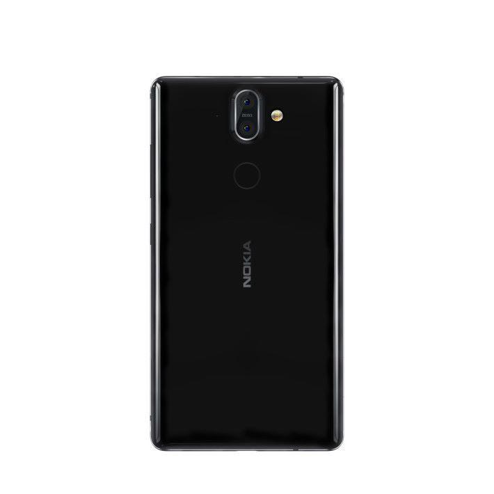 後置鏡頭跟 Nokia 7 Plus 相同,也備指紋辨識功能。