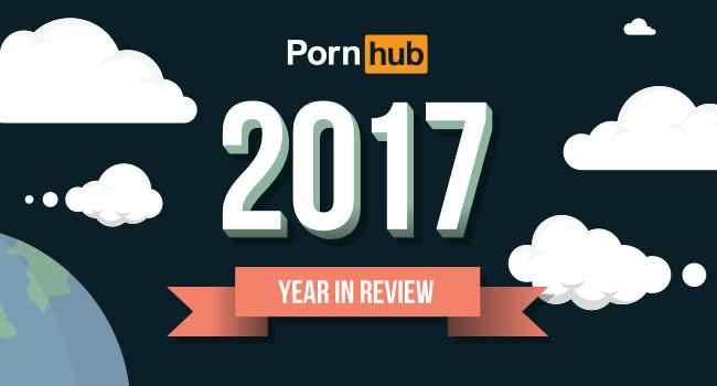Pornhub 公佈去年每日平均有 8100萬瀏覽人次。