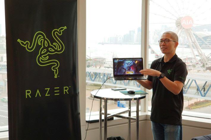 Razer 代表表示,Project Linda 屬於概念性產品,暫定決定何時正式量產發售。