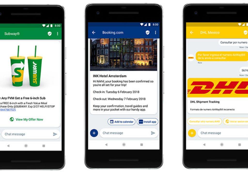 Google 與企業合作推動次世代短信 RCS