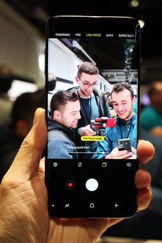 Galaxy S9+ 備有雙相機,景深拍攝功能自然不會缺少。