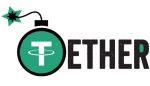 有人將 Tether 的標誌改成炸彈,暗喻 Tether 泡沫爆破的風險。
