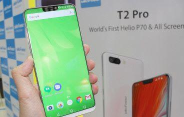 【MWC 2018】瀏海屏誇過 iPhone X uleFone T2 Pro 7月登場