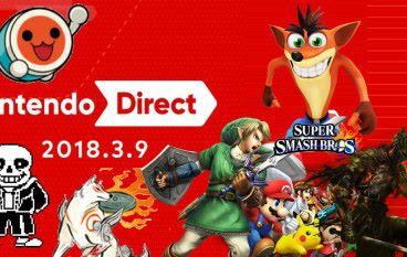 Nintendo Direct 速報!大神、Undertale、太鼓、大亂鬥!