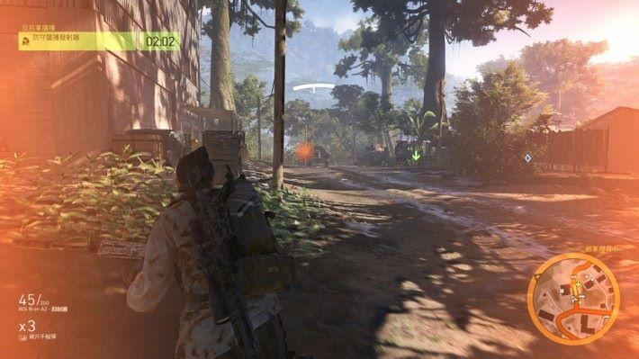 筆者玩《 Tom Clancy's Ghost Recon 》時,畫面可呈現疾速順暢的極致畫面。
