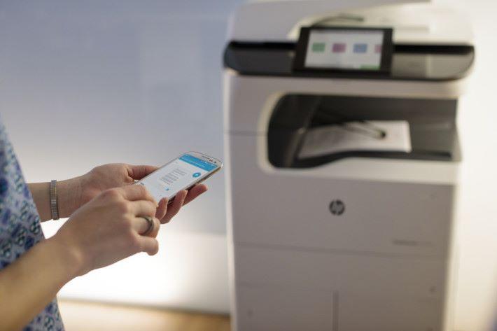 HP PageWide 系列支援多個流動打印方案,切合現今工作模式。