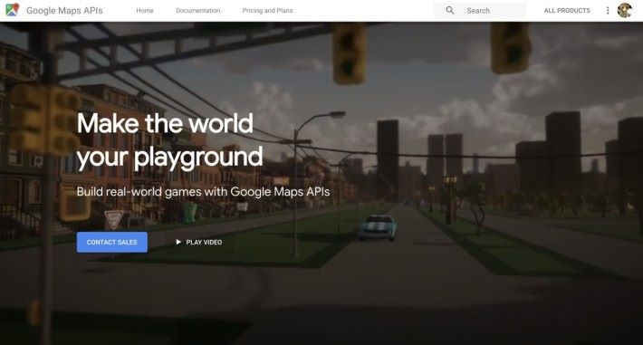 Google 宣佈開放 Map API 應用到遊戲開發上