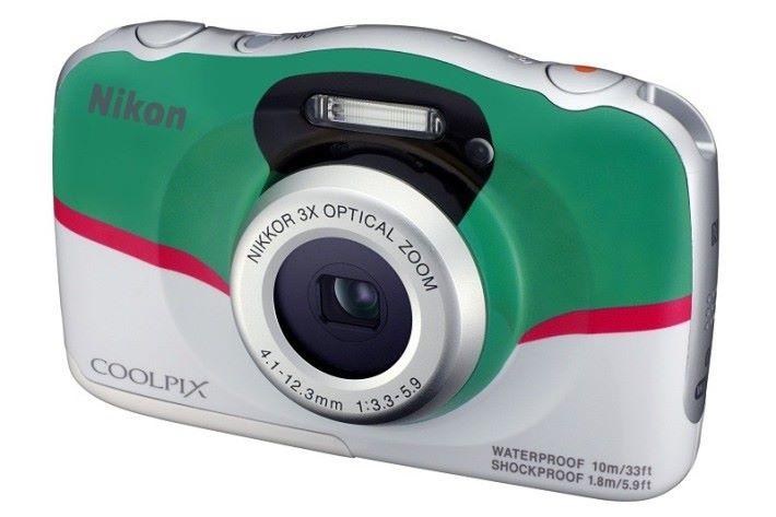 BIC Camera 原創新幹線配色 Nikon COOLPIX W100 相機