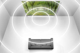 支援 Dolby Atmos® 全景聲音效系統,安在家中享受頂級影院的完美畫質及聲效。