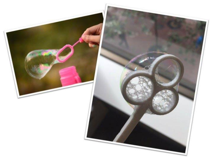 製作吹制器的物料十分重要,圈環設計要有足夠粗度使得肥皂水更容易粘在環上。