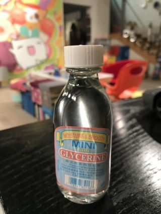 甘油是另一種加強肥皂泡不易破裂的秘密。