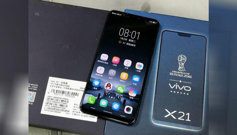 【場報】全屏 Vivo X21 有水貨!?