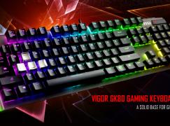 鍵盤都可以玩超頻?! MSI Vigor GK80、GK70 登場