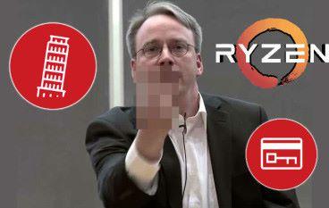 AMD CPU 「爆發」安全漏洞 Linux 之父狠批:全是造謠!垃圾!