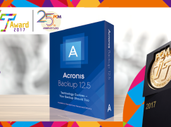 2017 至「專」企業數據備份方案大獎 Acronis Backup 12.5