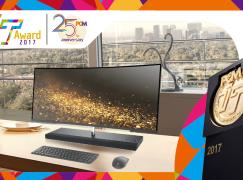 2017 至「專」桌面電腦大獎 HP ENVY Curved 34
