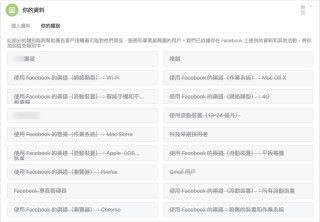 6. 你可以在「你的類別」一頁看到 Facebook 對你進行了的分析,當然應該全部移除了!