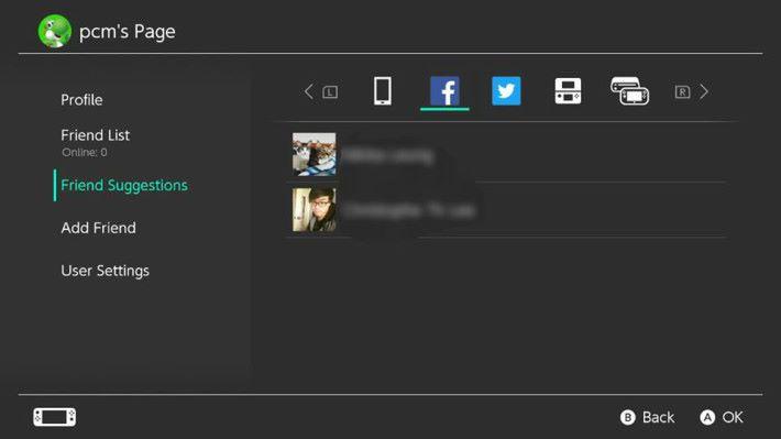 點選後會要求玩家登入,登入後會顯示已經連結的好友清單。
