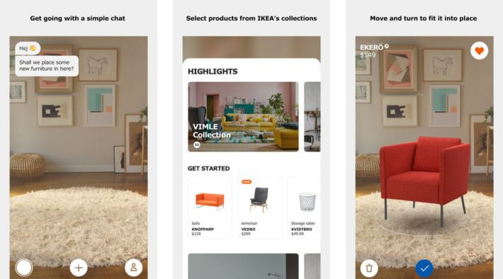 怎麼 iOS 版的家居環境,看起來比上面三張的 Android 版真實得多?