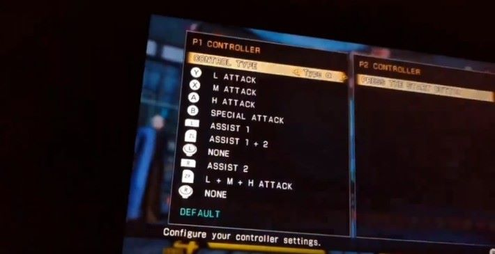 變更操作表出現「 ZL 」、「 ZR 」等任天堂主機獨有的按鈕。