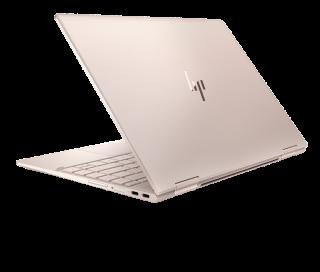 HP SPECTRE x360 13 有多種機身顏色可選擇,淡玫瑰金色別注版更是華麗得令人心動。