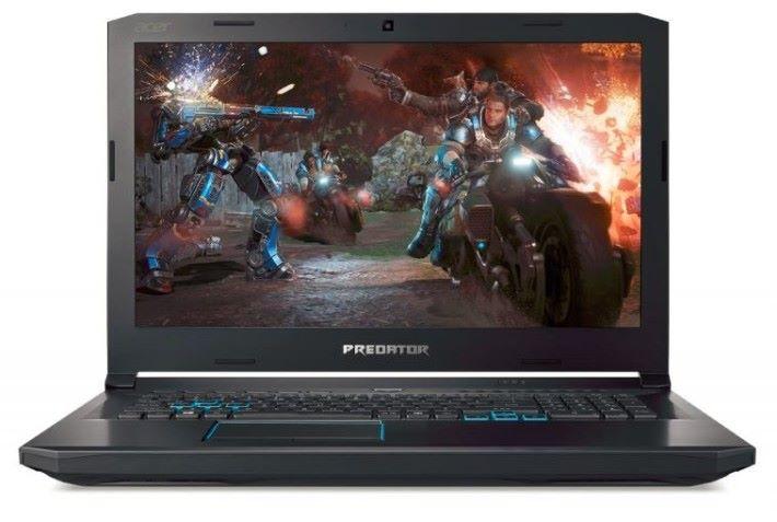 Predator 是 Acer 的電競系列產品線,所以產品圖片都使用電競主題。