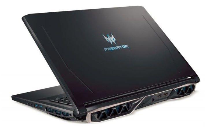 消息指 6 核心 Intel i9-8950HK 的 TDP 為 45W,可以超頻,再配以獨立顯示卡,機身背後少不了要預留更多散熱空間,所以看起來都比較厚重。Source:Mobimaniak