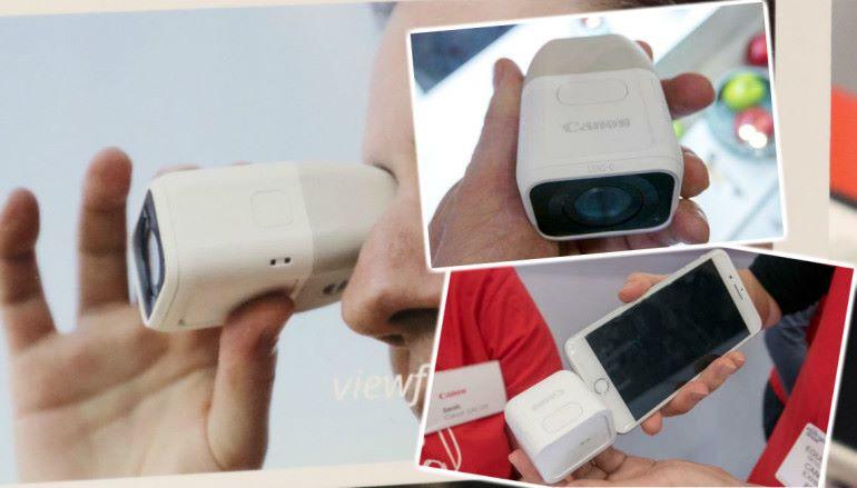 【踩過界】 Canon 開發手機用 100/400mm 鏡頭配件