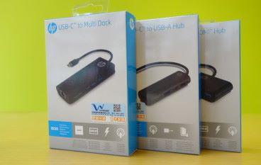 商務首選 hp USB-C 多功能 Hub 系列
