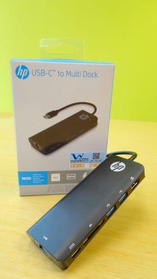 功能齊備的 USB-C to Multi Dock