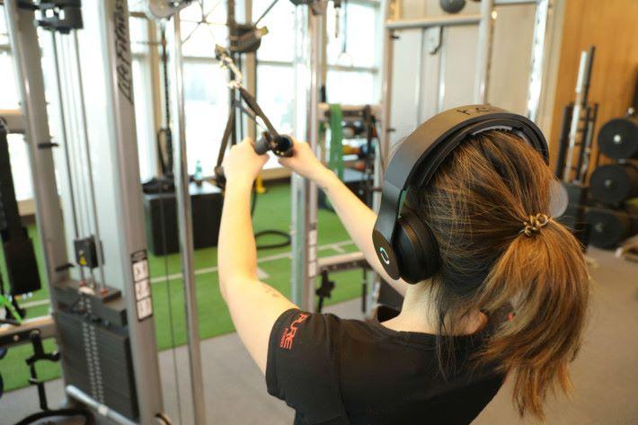 平常也可照常聽歌做運動。