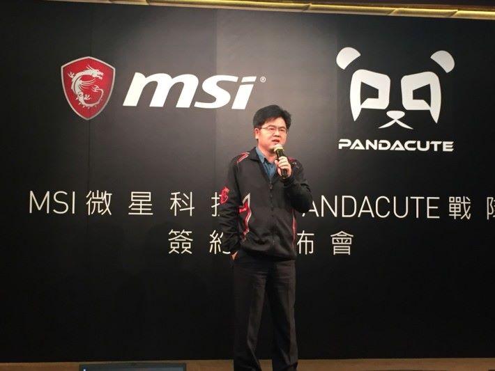 MSI 香港區業務代表 Frankie 。
