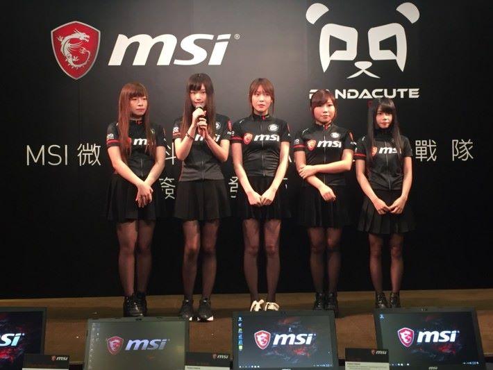 PandaCute 成員對今次簽約感到榮幸,望日後有更多機會可以發揮。