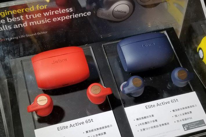 未來 Jabra 會多推一款Elite Active 65t,此耳機整合速度計追踪功能,以及具備 IP56 防汗,防水和防塵認證。
