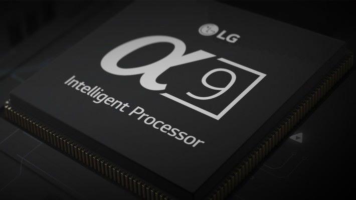 全新的 Alpha 9 處理器將全面提升電視的運算以及圖像處理能力。