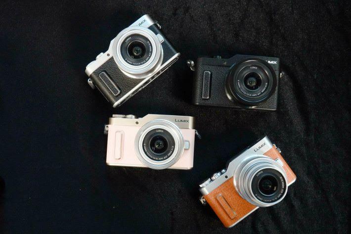 Panasonic GF10 有 4 款顏色選擇。