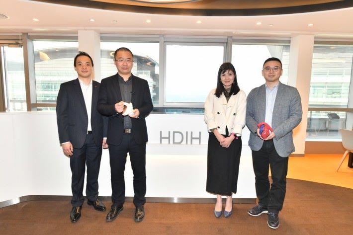 護康儀器創新中心(HIDH)為醫療保健和生物醫藥的共享工作空間。